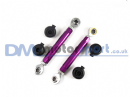 RX7 FD3S Purple Adjustable Toe Control Upper Arm (Pair)